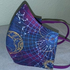 Accessories - Constellation Sparkle print Mask